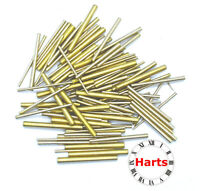 100 units Quality Brass Taper Assorted Clock Pins Repairs parts