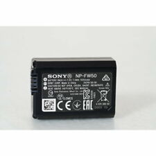 Sony NP-FW50 W-Serie Batería de Litio (7,2 V, 1080mAh) Negro