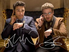 James Franco Seth Rogen SIGNED PHOTO THE INTERVIEW MOVIE AUTOGRAPH *LOOK*