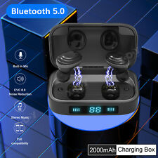 Wireless Bluetooth V5.0 Headset Stereo Bass Earbuds For iPhone Sony Android IOS