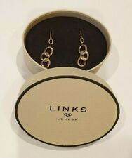 Links of London Signature Drop Earrings Rose Gold Plated/Sterling Silver 5040.24
