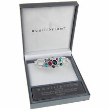Alloy Crystal Silver Plated Costume Bracelets