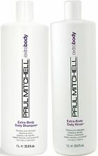 PAUL MITCHELL EXTRA BODY DAILY SHAMPOO AND CONDITIONER 1 LITRE FREE SHIPPING