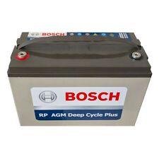 120AH BOSCH AMP HOUR BATTERY AGM SLA 12 VOLT 12V DEEP CYCLE  FRIDGE SOLAR BOAT