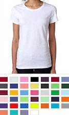 Gildan Ladies Shirts Heavy Cotton Short Sleeve Womens T-Shirts S - 3XL - 5000L
