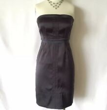 JUICY COUTURE Purple Strapless Cocktail Bridesmaid Dress Sz 4 XXS XS Extra Small