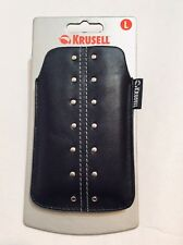 IPHONE 4/4S Krusell Soft Leather Slip Pouch