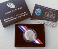 USA Half Dollar 2019 50 Jahre Apollo 11 Mondlandung CuNi unz.