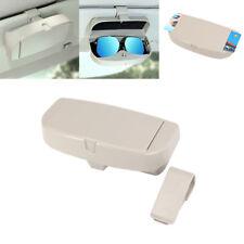 Car High quality plastic sun visor glasses box Sunglasse Card Ticket Holder Clip