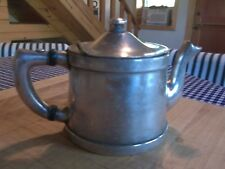 Vintage 1940s Silverplated over Nickel Benedict Indestructo #1354 Md USA Teapot