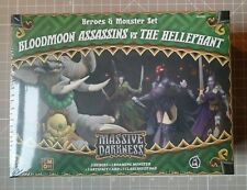 Massive Darkness Bloodmoon Assassins vs The Hellephant (new in shrink)