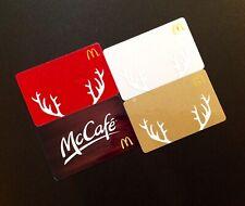 CANADA  🇨🇦 MCDONALDS  GIFT CARD ----- LOT OF 4 PCS. ----- NEW