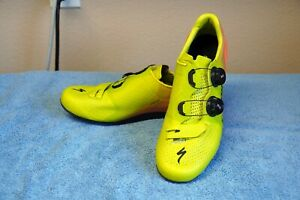 $400 Specialized S-Works 7 Rd Cycling Shoes Sz 42 EU 9 US Mens 10.5 Womens