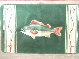 FISH DECOR  RUG     20 X 32