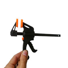 4Inch Ratchet Release Speed Squeeze Wood Bar Clamp Spreader Tool Woodwork Kit .*