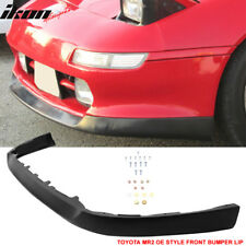 Fits 91-95 Toyota MR2 SW20 OE Style Front Bumper Lip Spoiler - Urethane