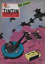 JOURNAL DE TINTIN N° 592 FEV. 1960 - DAN COOPER - MICHEL VAILLANT - LEFRANC
