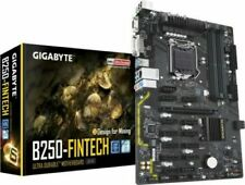 GIGABYTE GA-B250-FinTech LGA 1151, Intel Mainboard wie H110 BTC Mining 12 GPU