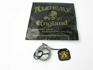 Alchemy England Gothic R183 L/N Small Vis Viva The Living Power Ring Steampunk