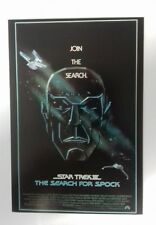 """STAR TREK - The Search For Spock Movie Postcard 6""""X4"""" Paramount Lot 2 Postcards"""