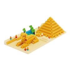 NEW NANOBLOCK Great Pyramid of Giza - Building Blocks Nanoblocks Nano NBH-033
