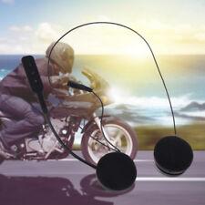 BT Bluetooth Headset Speaker for Motorcycle Helmet Handsfree Music Call Control