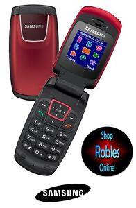 Samsung SGH-C270 Rot (Ohne Simlock) DuaBand Gut OVP