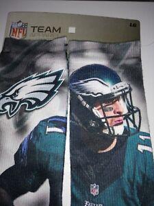 NFL Eagles Socks Carson Wentz Team Apparel