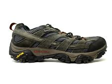 Merrell Mens Moab 2 Low Waterproof Athletic Support Hiking Trail Shoes Size 9.5