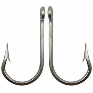 Super Strong 7732 Stainless Steel Fishing Hook Sea Demon Tuna Hook Size 4/0-12/0