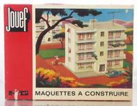 RARE MINT JOUEF 1986 HO  KIT - IMMEUBLE MODERNE - MODERN RESIDENTIAL FLATS