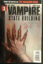 ABLAZE VAMPIRE STATE BUILDING #1 COVER A SIGNED BY CHARLIE ADLARD