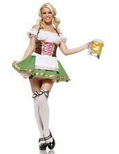 Ladies Octoberfest/Oktoberfest German Beer Festival Maid Costume Size 12-14