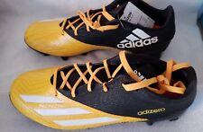 Mens Adidas Adizero 5-Star 5.0 Football Cleats Size 8 Black/Yellow NEW