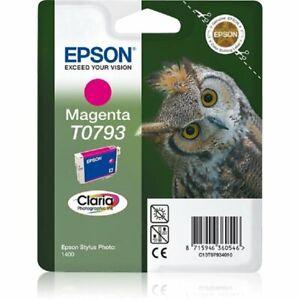 Original Epson T0793 magenta Eule P50 PX730WD PX830FWD OVP 04/2013