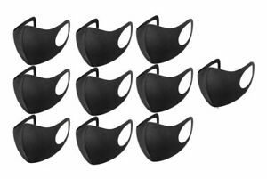 10 x Face Covering Cloth Mask Reusable Washable Breathable  Adult UK Seller