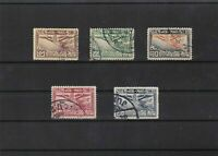 thailand 1925 air stamps ref 11553