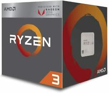 AMD Ryzen 3 2200G Quad-Core Motherboard Radeon VEGA 8 3.5GHz CPU Processor