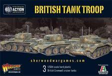 28mm Warlord Games Bolt Action British Cromwell Tank Troop (3Tanks) WW2 BNIB