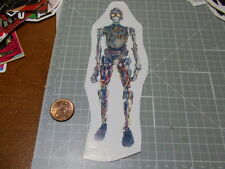 STAR WARS C-3PO WITHOUT SKIN Sticker Diecut reuseable Laptop/Phone/Luggage