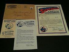 1939 Supermen of America Club Kit Superman  Rare Action Comics Button Pinback