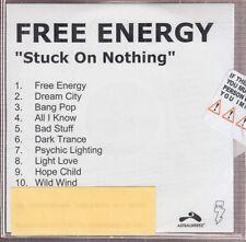free energy stuck on nothing cd promo new