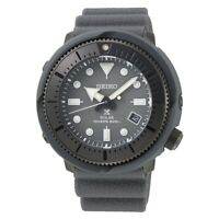 Seiko Prospex 200m Divers 46.7mm Grey Solar Watch With Silicone Band - SNE537P1