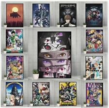 Top 10 greatest Anime Posters - Delux print selection wall art Size - A4 A3 A2