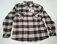 CQR Women's Shirt Sz 2X Long Sleeve Plaid Flannel Brushed Outdoor Hiking Camping