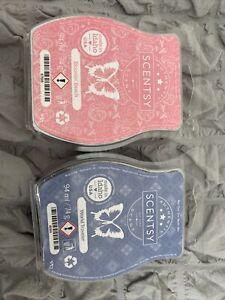 Scentsy wax bundle Bars X2 World Traveller & Bloomin Beach Brand New Sealed