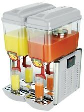 Anvil Refrigerated Double Bowl Juice Dispenser JDA0002