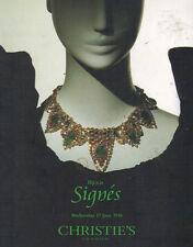 CHRISTIE'S JEWELS COUTURE Boucheron Chaumet Janesich Lacloche Lalique Wolfers