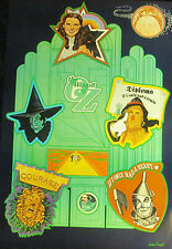 Vintage 1960s NoRoll~WIZARD OF OZ~ Icon Movie Poster