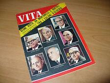 RIVISTA VITA SETTIMANALE DI NOTIZIE N.159 1962 SALAN ALGERIA ARGENTINA MAO CILE